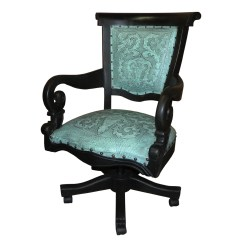 Turquoise Office Chair Replacement Papasan Cushion Swivel