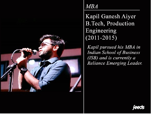 Interview: Kapil Ganesh Aiyer – Production Engineering (2011-2015)