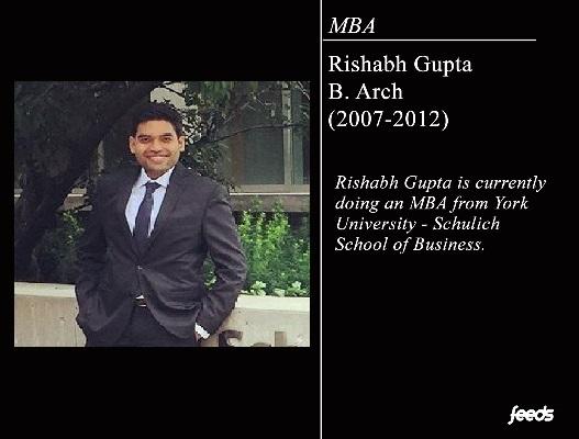 Interview: Rishabh Gupta (Archi-2012)
