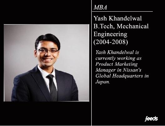 Interview : Yash Khandelwal (Mech – 2008)
