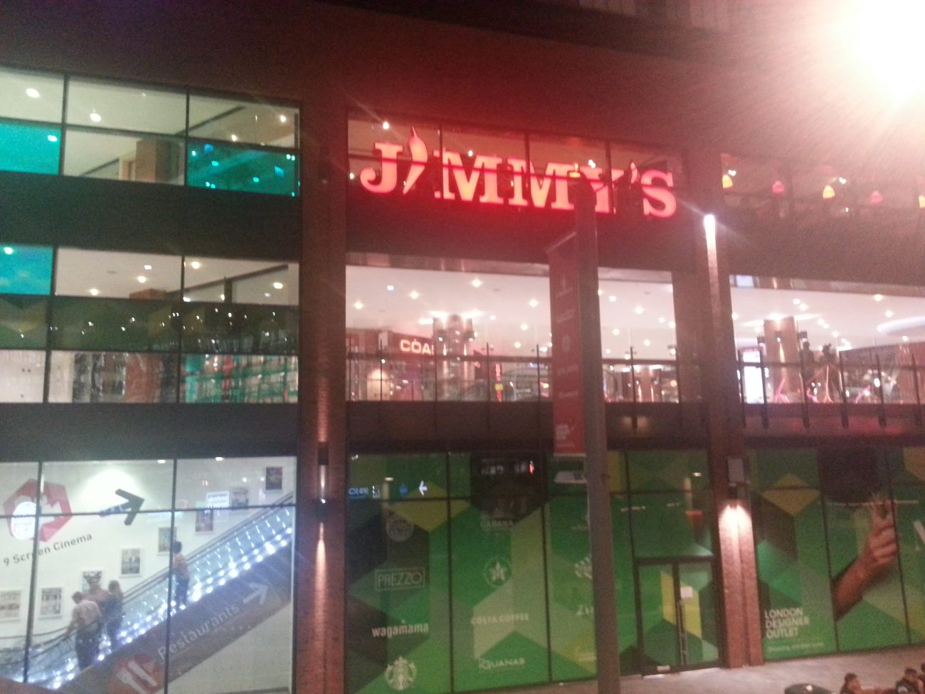 Jimmys World Kitchen Buffet  Wembley  Feed the Lion