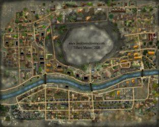 Small Fantasy Town -pinterest