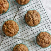 Overloaded Morning Glory Muffins {Gluten-Free Option}