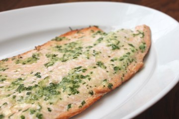 quick easy grilled salmon with herb butter