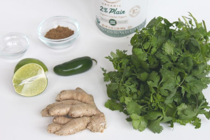 healthy creamy cilantro lime dressing