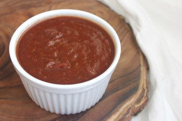 paleo homemade barbecue sauce