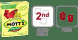 ingredients in Motts Fruity Rolls