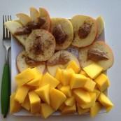 Mango Apple Snack