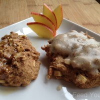 Delicious Baked Vegan Apple Fritters