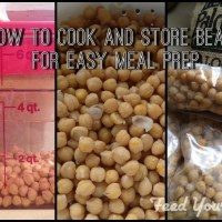 How to Cook Dried Beans and Store for Easy Meal Prep