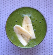 Banana Cream Pie Green Smoothie