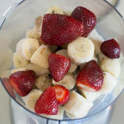 Strawberry Banana Shortcake Soft Serve | Feed Your Skull