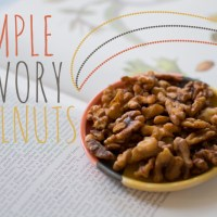 Simple Savory Walnut Recipe