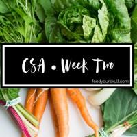 CSA 2016 • Week 2