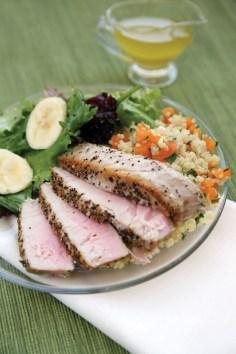 Seared Ahi Tuna Feed Zone Cookbook