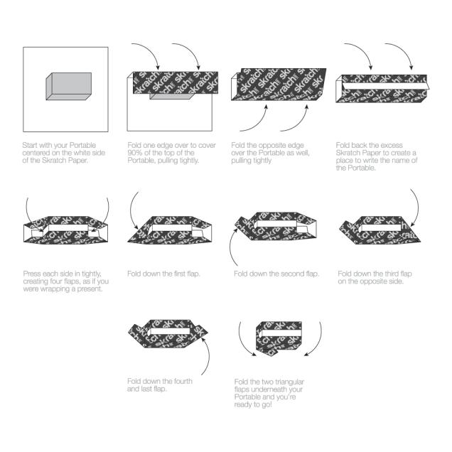 Skratch Labs Skratch Paper instructions