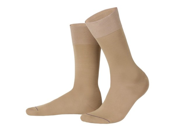 Egyptian cotton socks (beige), Luxury collection