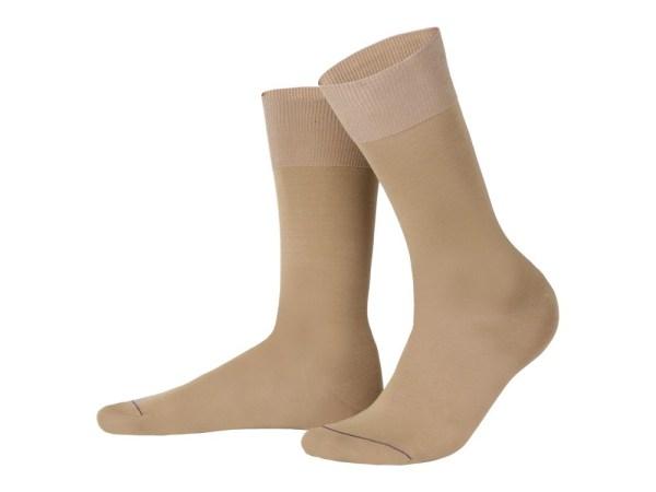 Шкарпетки з єгипетської бавовни (бежевий), колекція luxury