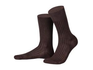 Шкарпетки з єгипетської бавовни (світло-коричневi), колекція Luxury