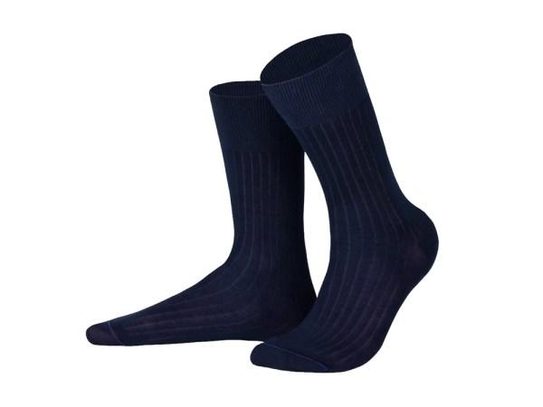 Шкарпетки з єгипетської бавовни (синій), колекція Luxury