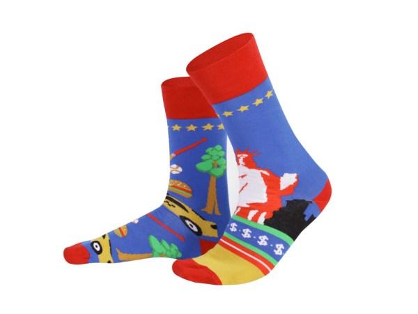 "Шкарпетки ""Америка"" колекція Creative Travel"