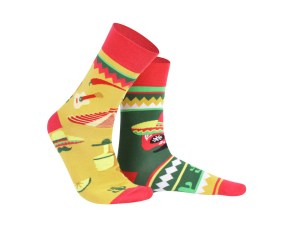 "Шкарпетки ""Мексика"" колекція Creative Travel"