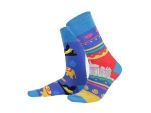 "Socks ""India"", Creative Travel collection"