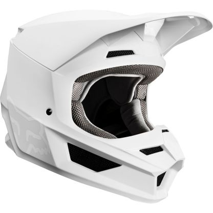 Fox V1 Przm Camo Helmet White Adult