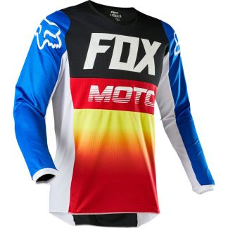 Fox 180 FYCE Blue/Red Jersey 2020 Adult