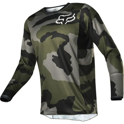 Fox 180 PRZM CAMO Jersey Youth Front
