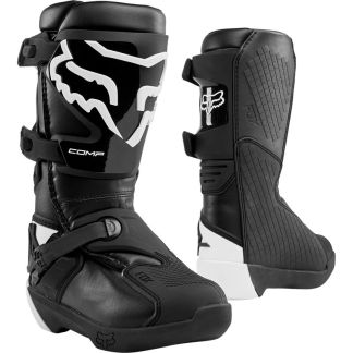 Fox Youth Comp Boots Black