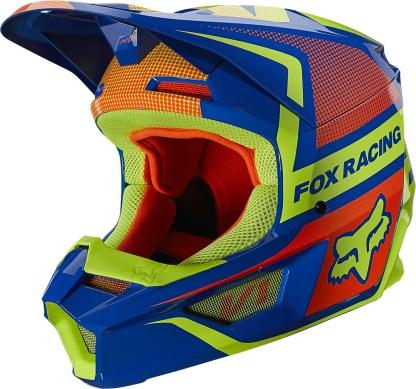Fox V1 OKTIV Helmet Blue Youth2