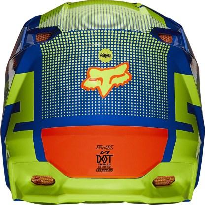 Fox V1 OKTIV Helmet Blue Youth4