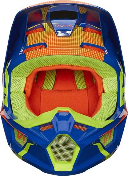 Fox V1 OKTIV Helmet Blue Youth5