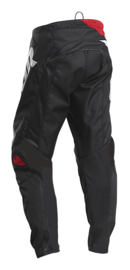 Thor Sector Blade Pants Charcoal/Red Youth Back