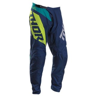 Thor Sector Blade Pants Navy/Acid Youth