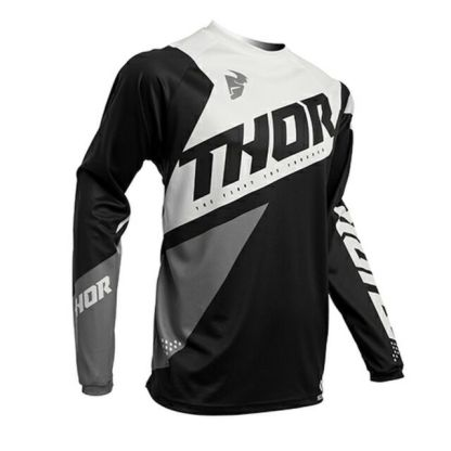 Thor Sector Blade Jersey Black/White Youth