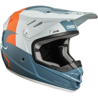 Thor Sector Shear Helmet Slate/Grey Youth