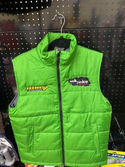 Muk Junkie Feehily MX Bodywarmer Adult Green