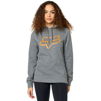 Fox Racing 2020 Centered Pullover Fleeced Adult Hoodie Grey