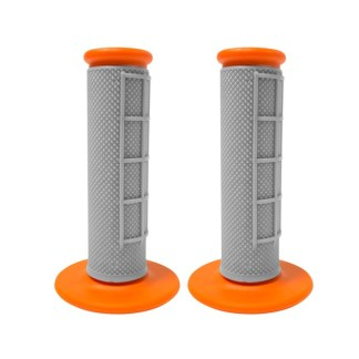 APICO HANDLEBAR GRIPS GREY ORANGE