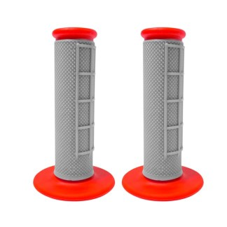 APICO HANDLEBAR GRIPS GREY RED