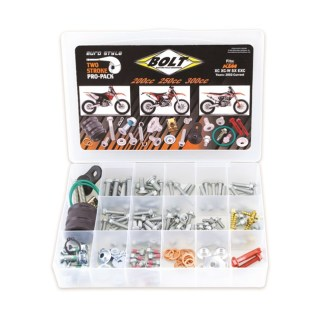 BOLT PRO PACK FASTENER KIT EURO STYLE 2T SX EXC 200-300 00-19 (R)