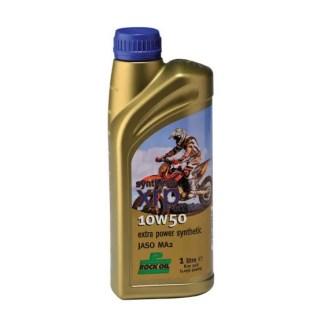 Rock Oil Syn XRP Off Road 10W 50 4 Stroke Engine Oil 1 Lire