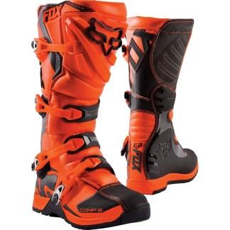 Fox Youth Comp 5 Boots Orange