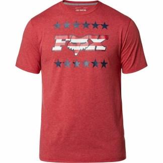 Fox Racing Brake Free Tech T-Shirt Chili Adult