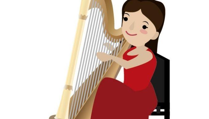 ハープ奏者