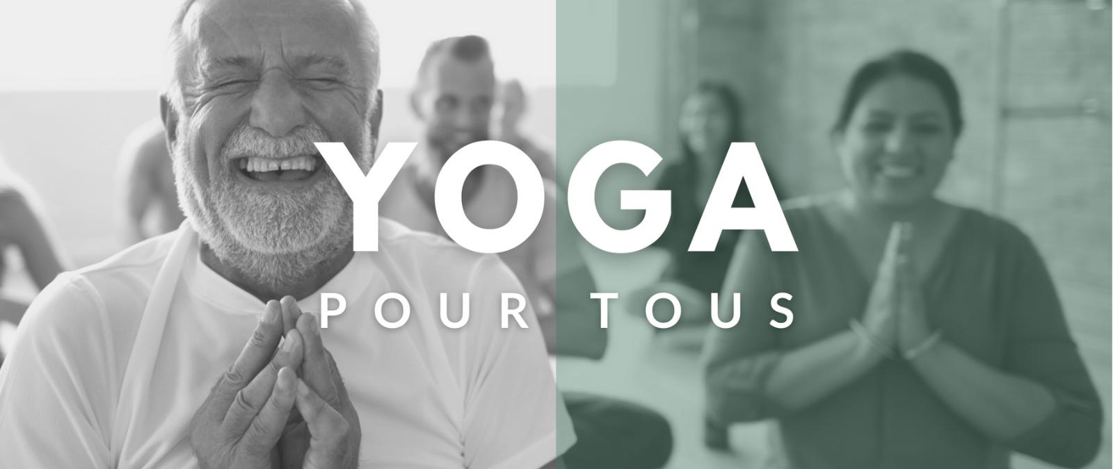 Yoga Inclusif pour tout niveau