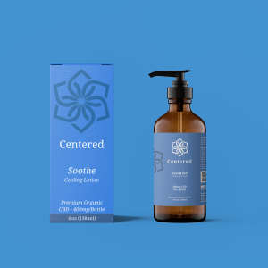 Centered - Soothe Cooling Lotion/Cream for sore muscles