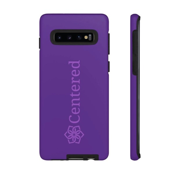 Centered Tough Phone Cases Samsung Galaxy S10 Plus